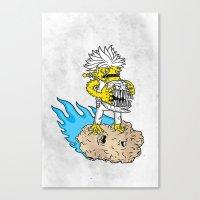 60 go 40 Canvas Print