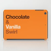 Chocolate & Vanilla Swir… iPad Case
