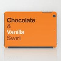 Chocolate & Vanilla Swir… iPad Case