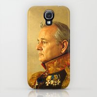 Galaxy S4 Cases featuring Bill Murray - replaceface by replaceface