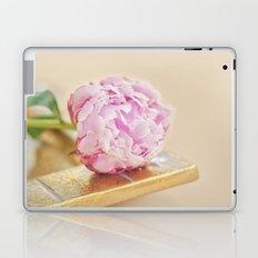 PEONY WITH GOLD Laptop & iPad Skin
