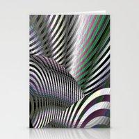 Steel Zebra Stationery Cards