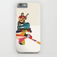 Walking Shadow, Guitarist iPhone 6 Slim Case
