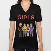Girls Unisex V-Neck