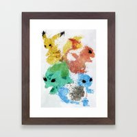Starters Framed Art Print