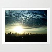 New York, NY Art Print