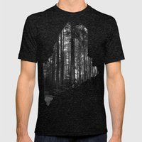 Cobscook Bay, Maine Mens Fitted Tee Tri-Black SMALL