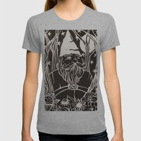 Gnome Womens Fitted Tee Athletic Grey SMALL