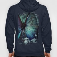 Abstract Butterfly Hoody