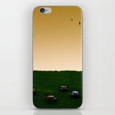 Everywhere and Nowhere iPhone & iPod Skin