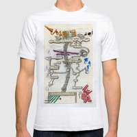 Break Through Mens Fitted Tee Ash Grey SMALL