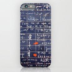 LOVE WALL iPhone 6s Slim Case