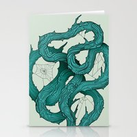 wood knot Stationery Cards