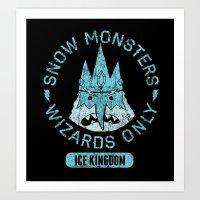 Bad Boy Club: Snow Monst… Art Print