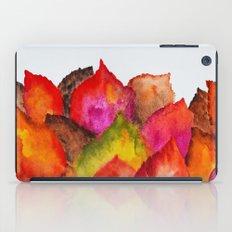 Autumn abstract watercolor 01 iPad Case