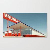 Ed Brunch Canvas Print