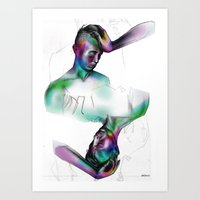 You / Uoy Art Print