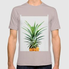 Pineapple V2 #society #b… Mens Fitted Tee Cinder SMALL