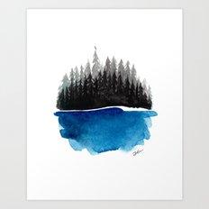 Hideout Art Print