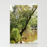 Living on the swamp Stationery Cards