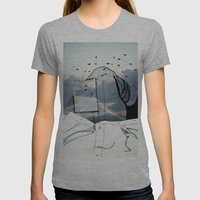 Viagem#2 Womens Fitted Tee Athletic Grey SMALL