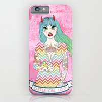 Little Girl Lost iPhone 6 Slim Case