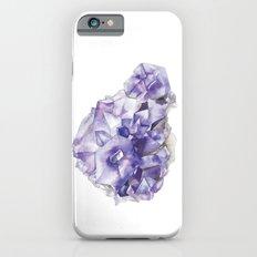 Amethyst Cluster iPhone 6 Slim Case