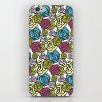 Bold roses iPhone & iPod Skin