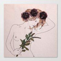 GIBSON GIRL Canvas Print