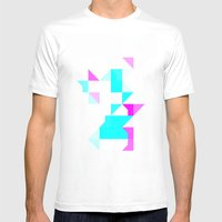 Project Map Mens Fitted Tee White SMALL