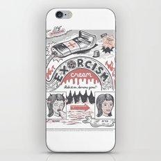Exorcism Cream iPhone & iPod Skin
