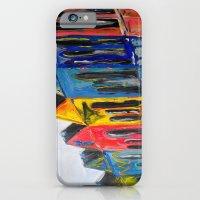 Rainbow Row iPhone 6 Slim Case