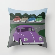 V Bug Throw Pillow