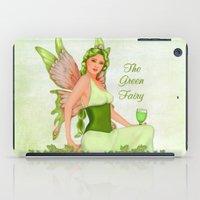 Absinthe The Green Fairy iPad Case