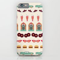 iPhone & iPod Case featuring Meet me at the Diner by basilique