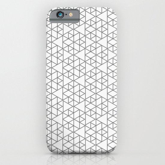 Karthuizer Grey & White Pattern iPhone & iPod Case