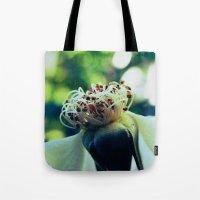 Disheveled Flower Tote Bag