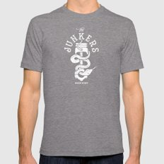 Junkers Mens Fitted Tee Tri-Grey SMALL