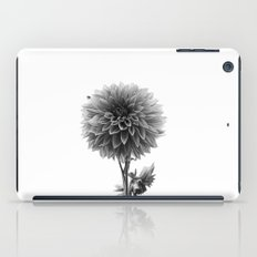 Dahlia - Monochrome iPad Case