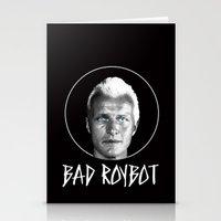 Bad Robot (White Letteri… Stationery Cards