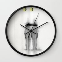 Tripple Moon Wall Clock