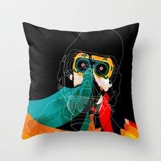 Mask Throw Pillow
