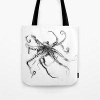 Star Octopus Tote Bag