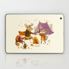 Critters: Fall Camping Laptop & iPad Skin