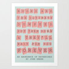 Dumpees Art Print