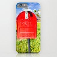 Red Mailbox iPhone 6 Slim Case