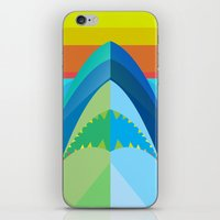 SHARK TIME iPhone & iPod Skin