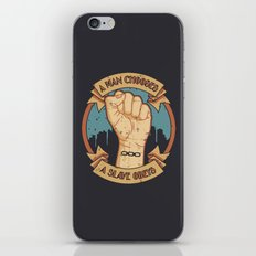 Bioshock a man, a slave iPhone & iPod Skin