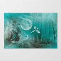FOREST DREAMING Canvas Print