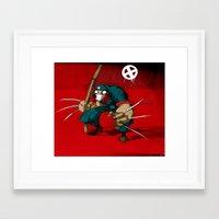 Revolution X Framed Art Print